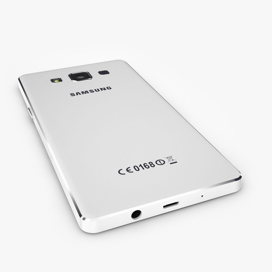 Samsung Galaxy A5 royalty-free 3d model - Preview no. 3