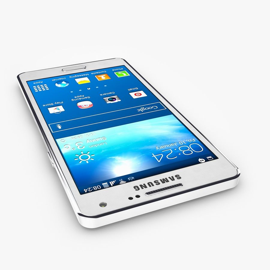 Samsung Galaxy A5 royalty-free 3d model - Preview no. 5