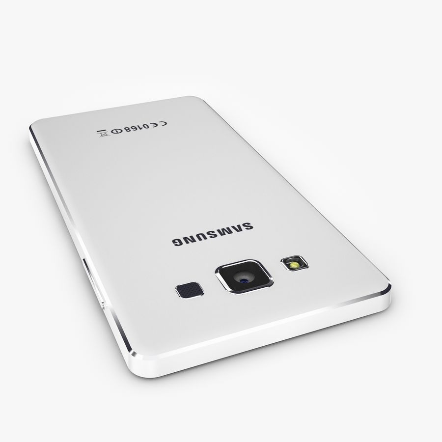 Samsung Galaxy A5 royalty-free 3d model - Preview no. 7