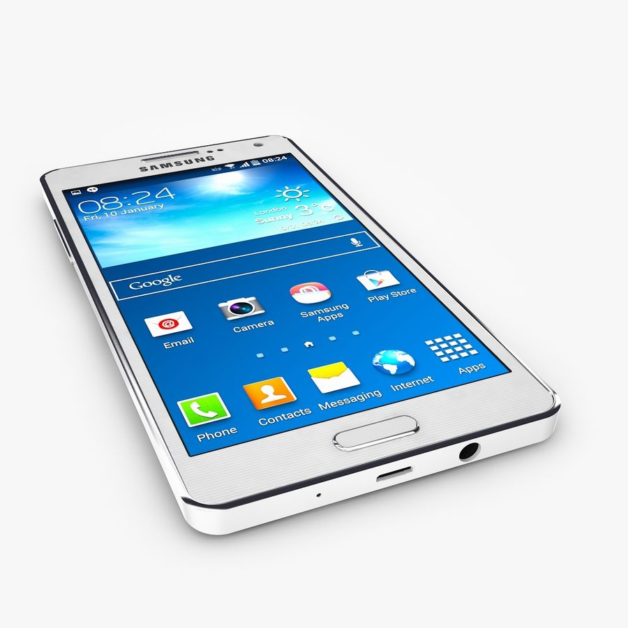 Samsung Galaxy A5 royalty-free 3d model - Preview no. 1