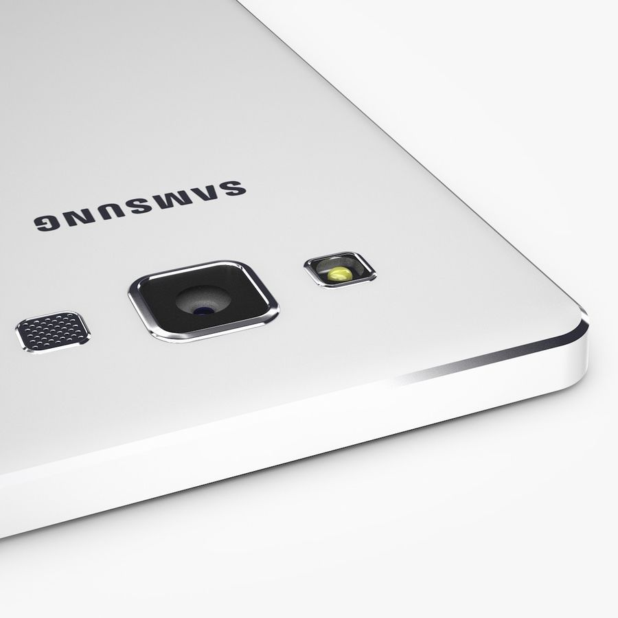 Samsung Galaxy A5 royalty-free 3d model - Preview no. 11