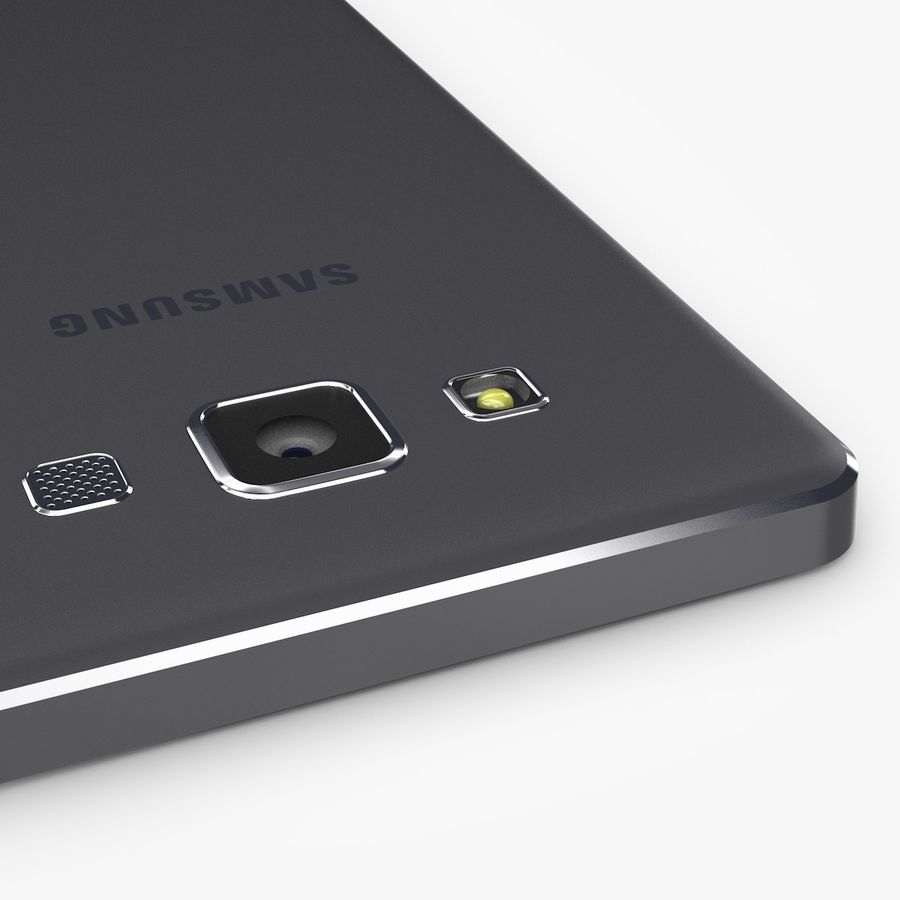 Samsung Galaxy A5 royalty-free 3d model - Preview no. 12