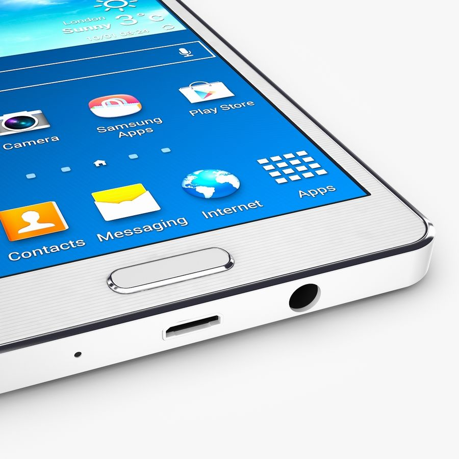 Samsung Galaxy A5 royalty-free 3d model - Preview no. 9