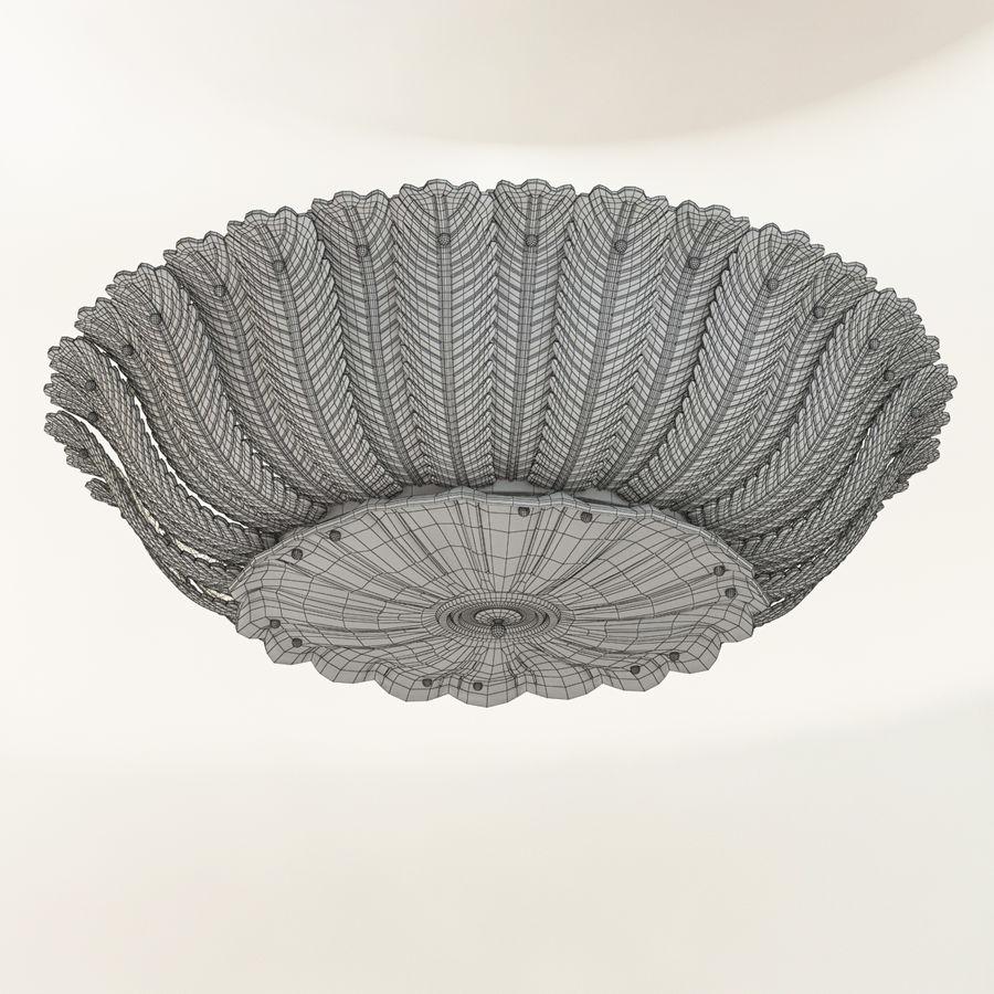 Lustre de plafond 2 royalty-free 3d model - Preview no. 5