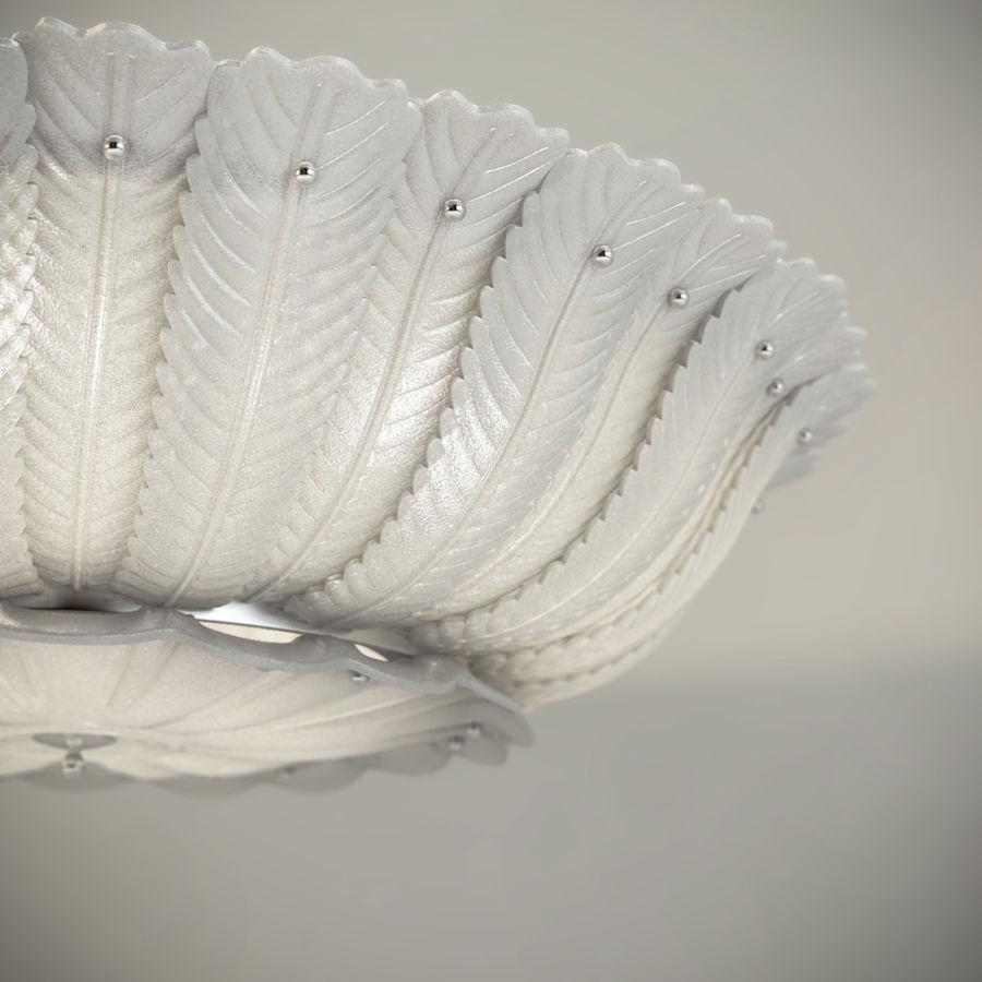 Lustre de plafond 2 royalty-free 3d model - Preview no. 3