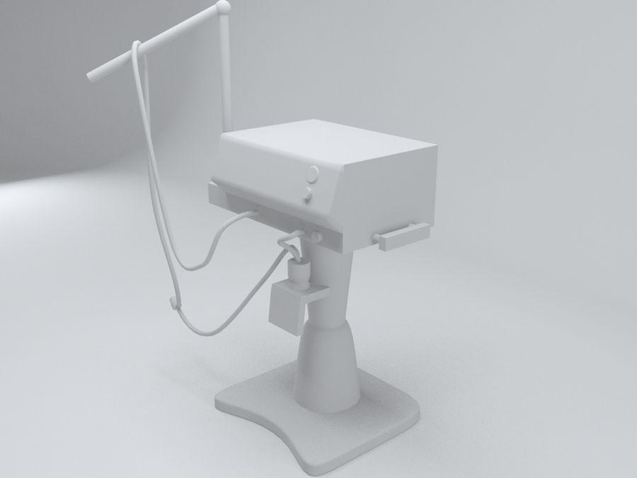 송풍기 royalty-free 3d model - Preview no. 5