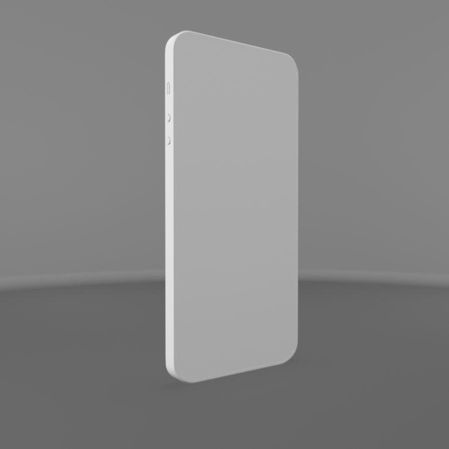 苹果iPhone 5s royalty-free 3d model - Preview no. 10