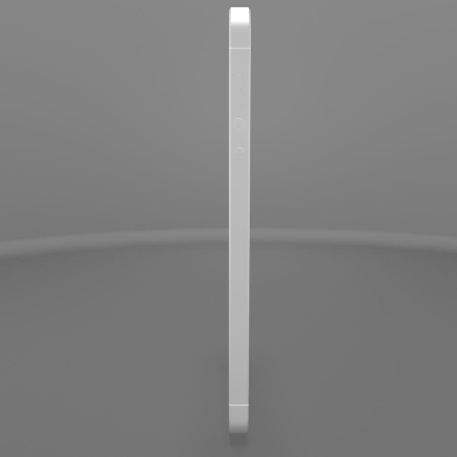 苹果iPhone 5s royalty-free 3d model - Preview no. 5