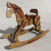 Rocking Horse Model 3d model