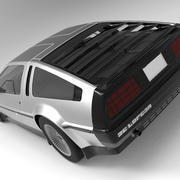 DMC Delorean 3d model