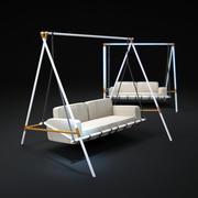 Tatlı-Salıncak-Koltuklar 3d model