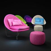 尼多椅 3d model