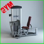 压腿 3d model