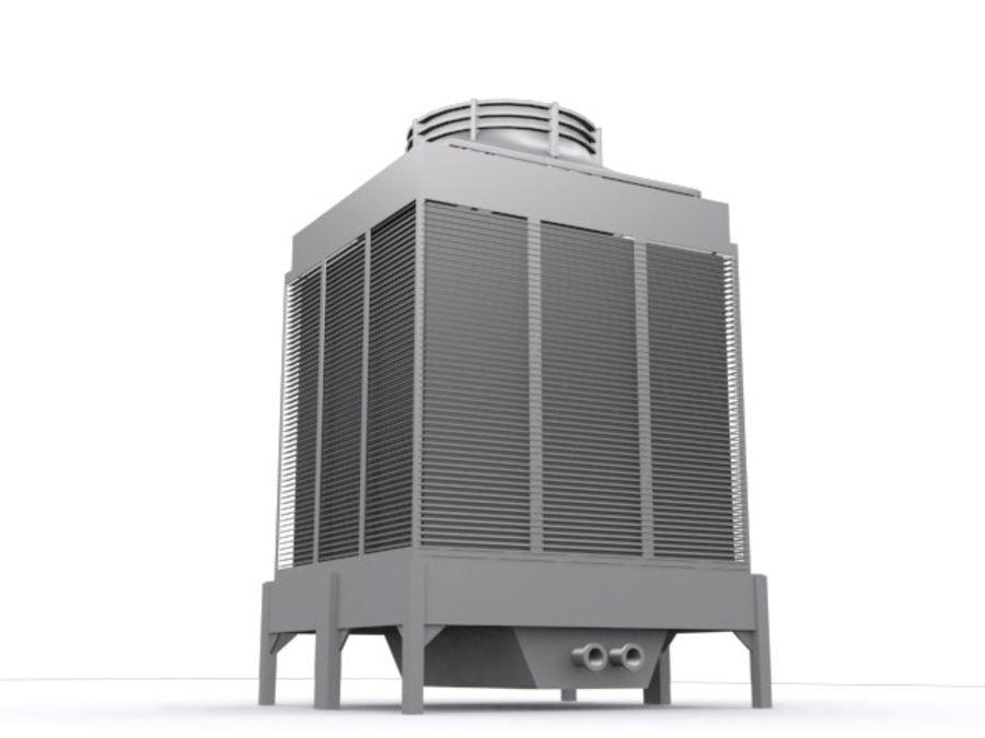 Soğutma kulesi royalty-free 3d model - Preview no. 3