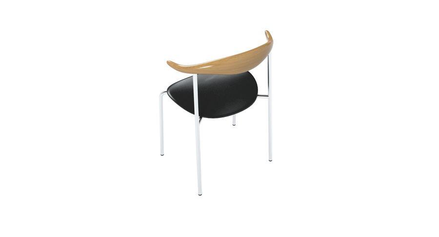 Cadeira CH88 de Hans Wegner royalty-free 3d model - Preview no. 4