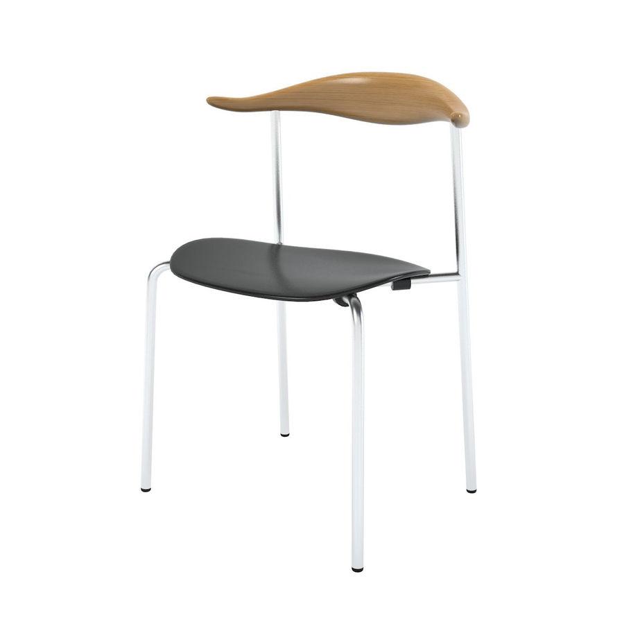 Cadeira CH88 de Hans Wegner royalty-free 3d model - Preview no. 1