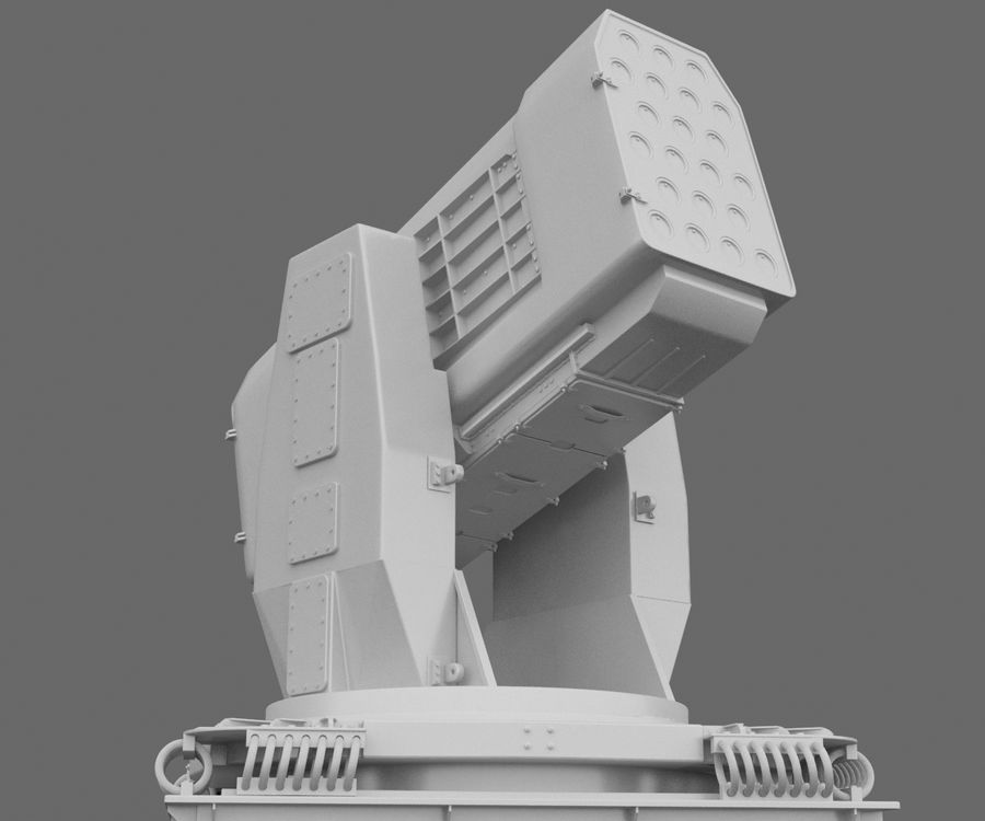 Airframe Missile Launcher royalty-free 3d model - Preview no. 1