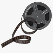 Video Film Reel 3D 모델 3d model