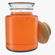 Jar Of Honey 3Dモデル 3d model