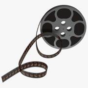 Video Film Reel 4 Modello 3D 3d model