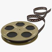 Video Film Reel 5 3D 모델 3d model