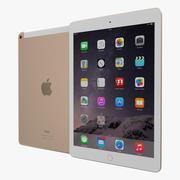 iPad Air 2 3G Gold 3D Model 3d model