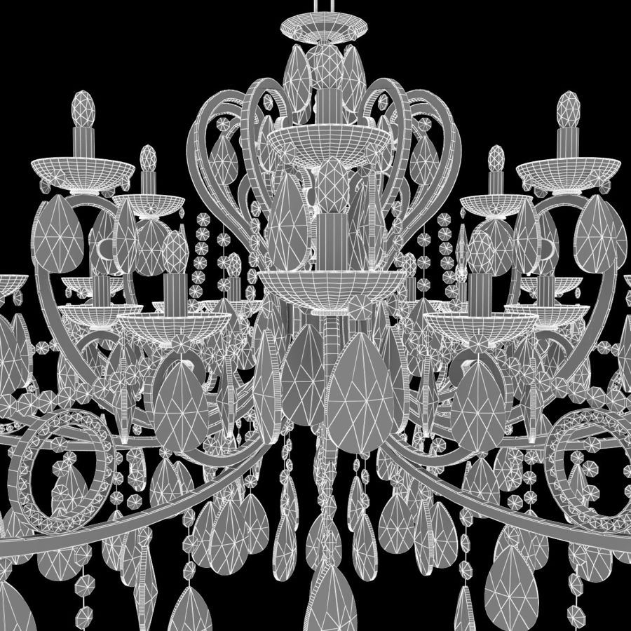 Avize royalty-free 3d model - Preview no. 7
