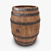 Barrel (Old) 3d model