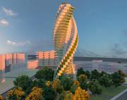 超高層ビル 3d model