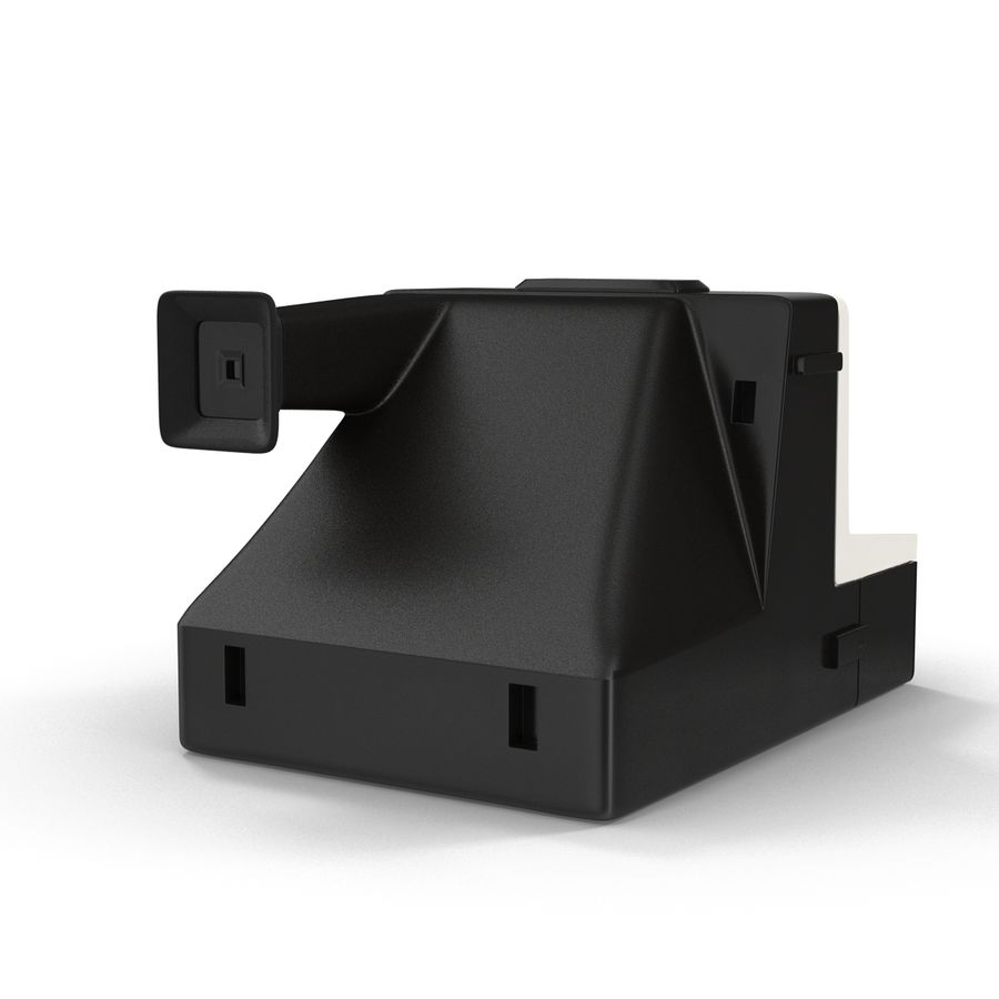 Polaroid Film Camera royalty-free 3d model - Preview no. 4