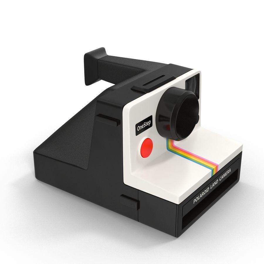 Polaroid Film Camera royalty-free 3d model - Preview no. 5