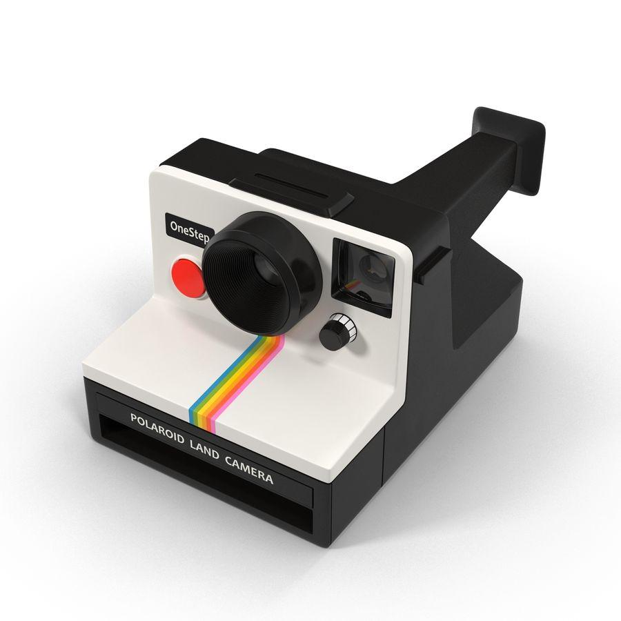 Polaroid Film Camera royalty-free 3d model - Preview no. 3