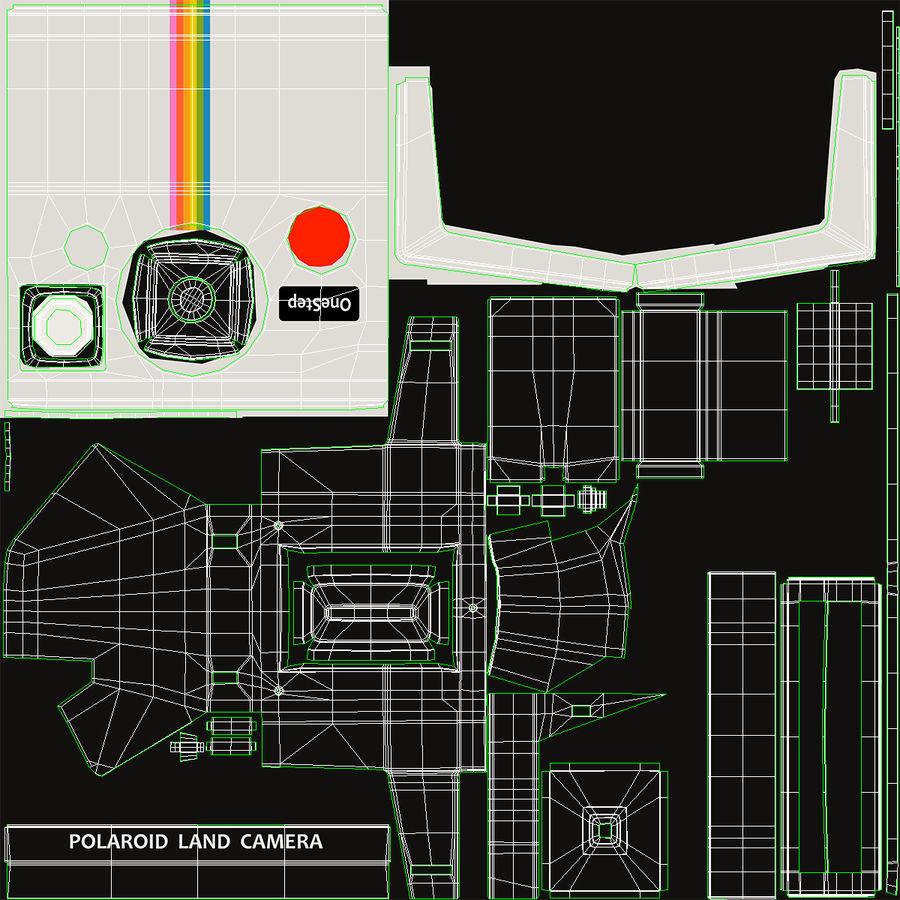 Polaroid Film Camera royalty-free 3d model - Preview no. 18