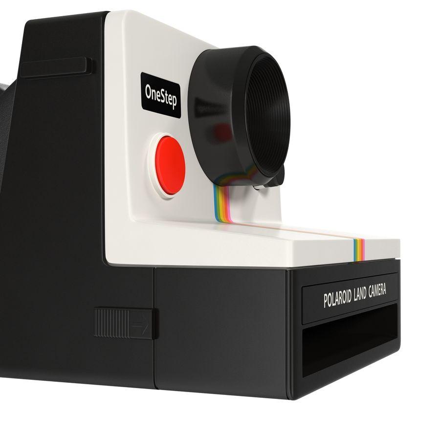 Polaroid Film Camera royalty-free 3d model - Preview no. 15
