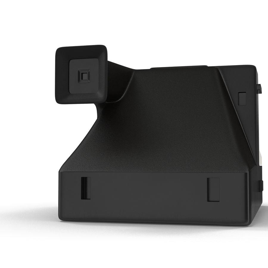 Polaroid Film Camera royalty-free 3d model - Preview no. 9