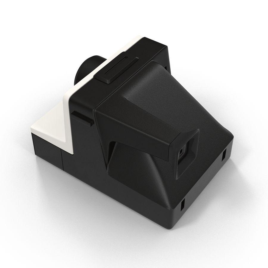 Polaroid Film Camera royalty-free 3d model - Preview no. 6