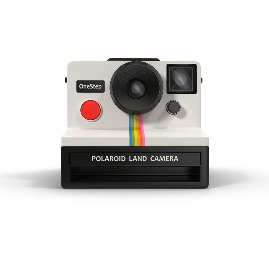 Polaroid Film Camera royalty-free 3d model - Preview no. 7