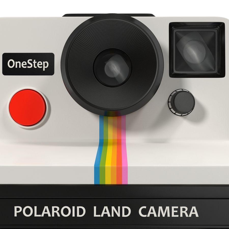 Polaroid Film Camera royalty-free 3d model - Preview no. 13