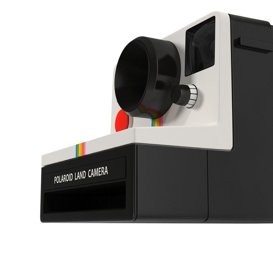 Polaroid Film Camera royalty-free 3d model - Preview no. 14