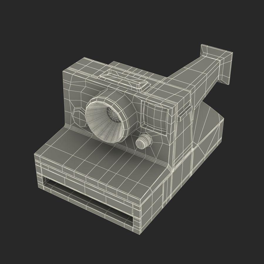 Polaroid Film Camera royalty-free 3d model - Preview no. 21