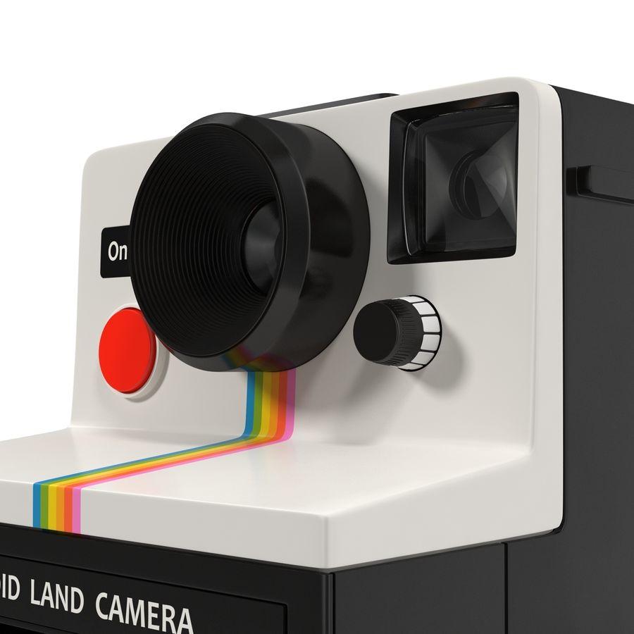 Polaroid Film Camera royalty-free 3d model - Preview no. 12