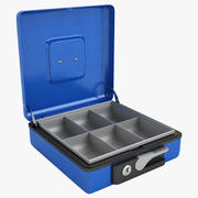 Cash Box Open 02 3d model