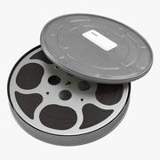 Video Filmrolle in Fall 2 3D-Modell 3d model