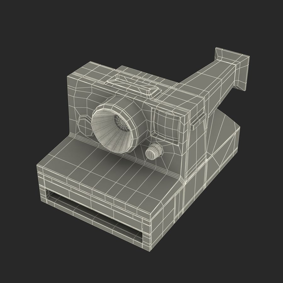 Generic Film Camera royalty-free 3d model - Preview no. 21