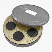 Video Filmrolle in Fall 3 3D-Modell 3d model