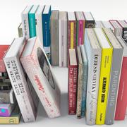 Book Set Vol 02 3d model