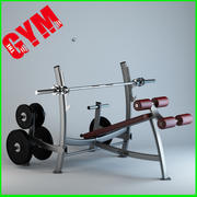 奥林匹克衰落新闻与重量存储 3d model