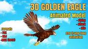 EAGLE 3D ANIMATED MODEL 3d model