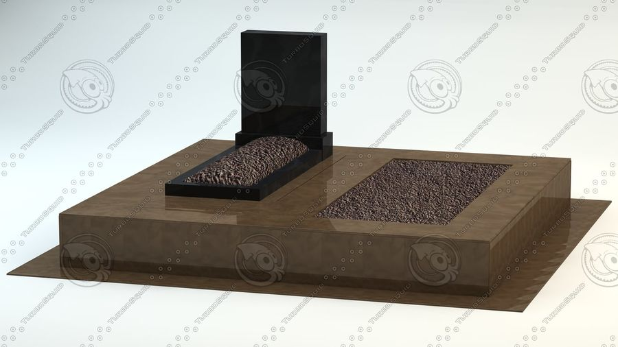 grave royalty-free 3d model - Preview no. 6