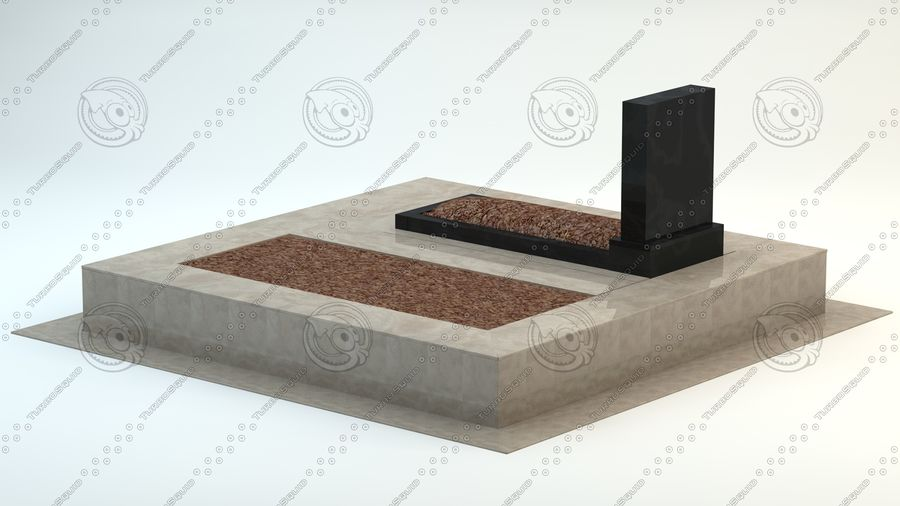 grave royalty-free 3d model - Preview no. 4